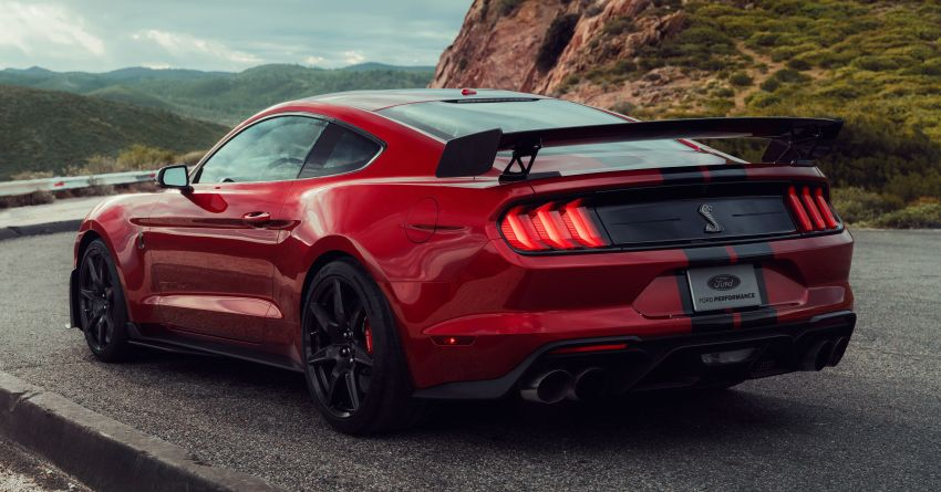 2020 Mustang Shelby GT500 debuts in Detroit – 5.2 litre supercharged V8; 700 hp, 0-98 km/h under 3.5s Image #911793