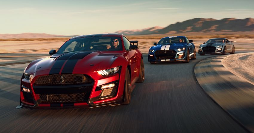2020 Mustang Shelby GT500 debuts in Detroit – 5.2 litre supercharged V8; 700 hp, 0-98 km/h under 3.5s Image #911832