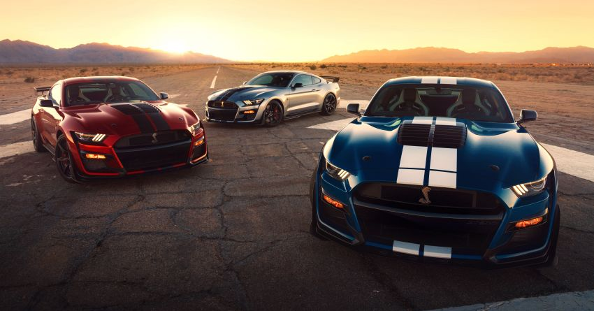 2020 Mustang Shelby GT500 debuts in Detroit – 5.2 litre supercharged V8; 700 hp, 0-98 km/h under 3.5s Image #911834