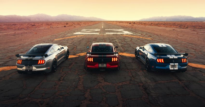 2020 Mustang Shelby GT500 debuts in Detroit – 5.2 litre supercharged V8; 700 hp, 0-98 km/h under 3.5s Image #911835