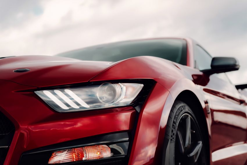 2020 Mustang Shelby GT500 debuts in Detroit – 5.2 litre supercharged V8; 700 hp, 0-98 km/h under 3.5s Image #911841
