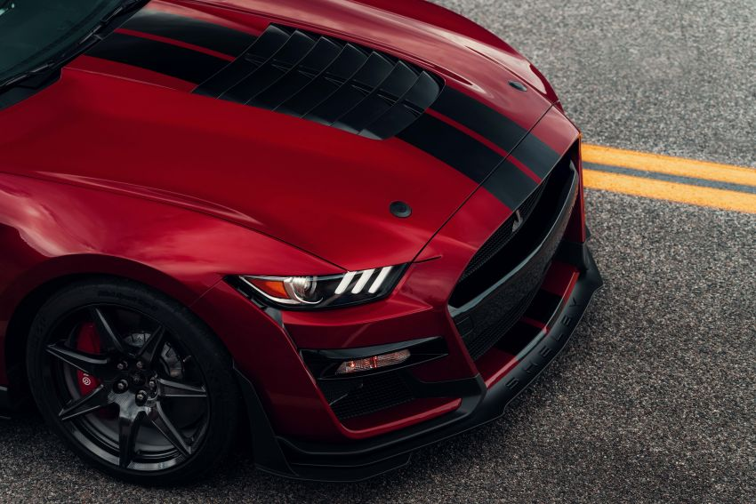 2020 Mustang Shelby GT500 debuts in Detroit – 5.2 litre supercharged V8; 700 hp, 0-98 km/h under 3.5s Image #911846