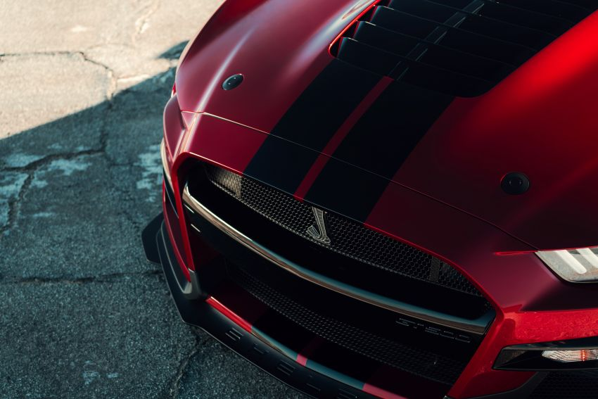 2020 Mustang Shelby GT500 debuts in Detroit – 5.2 litre supercharged V8; 700 hp, 0-98 km/h under 3.5s Image #911856