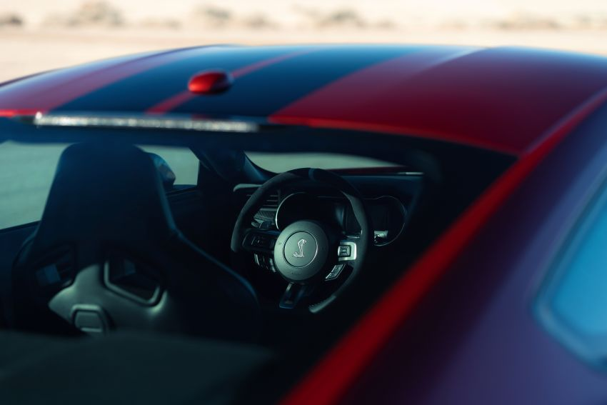 2020 Mustang Shelby GT500 debuts in Detroit – 5.2 litre supercharged V8; 700 hp, 0-98 km/h under 3.5s Image #911869