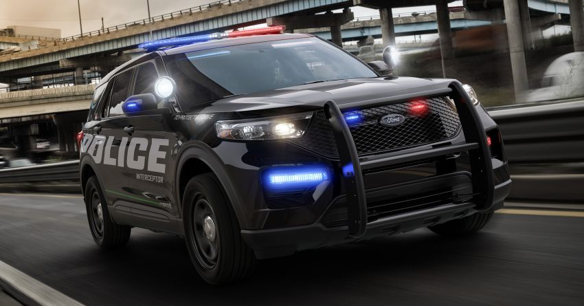 2020 Ford Police Interceptor Utility officially revealed – now available as a hybrid, previews new Explorer SUV Image #907291
