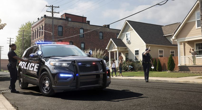 2020 Ford Police Interceptor Utility officially revealed – now available as a hybrid, previews new Explorer SUV Image #907292