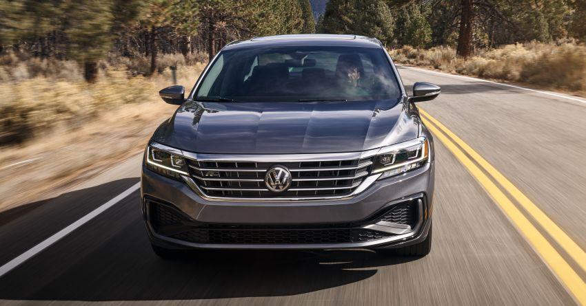 2020 Volkswagen Passat officially unveiled in Detroit Image #910537