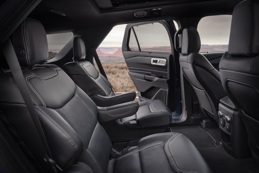 Ford Explorer 2020 didedah – pacuan roda belakang, 365 hp 3.0 liter biturbo V6, versi ST akan datang Image #908924