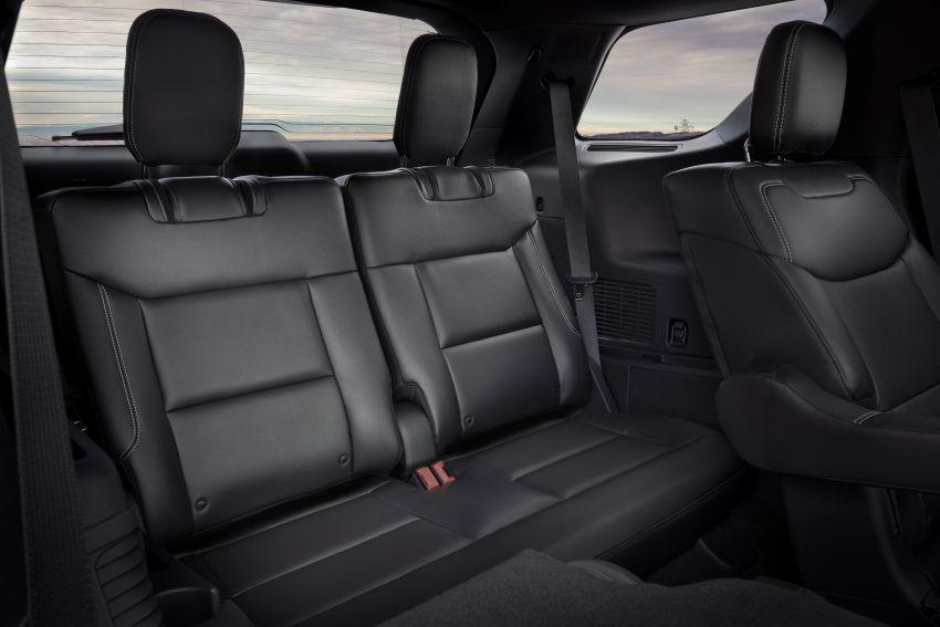 Ford Explorer 2020 didedah – pacuan roda belakang, 365 hp 3.0 liter biturbo V6, versi ST akan datang Image #908925