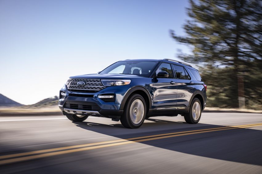 2020 Ford Explorer unveiled – rear-wheel drive,  365 hp 3.0 litre biturbo V6, hot ST version coming soon Image #908631