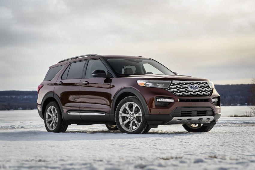Ford Explorer 2020 didedah – pacuan roda belakang, 365 hp 3.0 liter biturbo V6, versi ST akan datang Image #908906