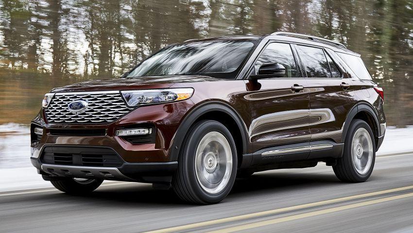 Ford Explorer 2020 didedah – pacuan roda belakang, 365 hp 3.0 liter biturbo V6, versi ST akan datang Image #908907