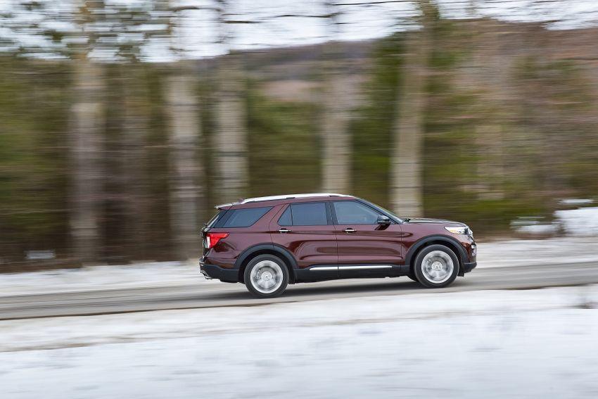 Ford Explorer 2020 didedah – pacuan roda belakang, 365 hp 3.0 liter biturbo V6, versi ST akan datang Image #908908