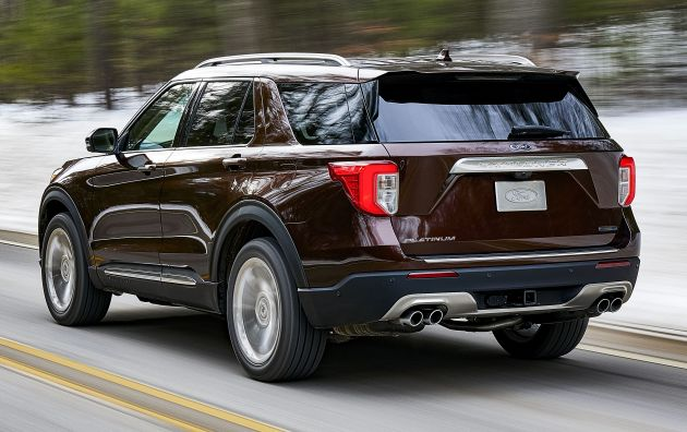 2020 Ford Explorer Unveiled Rear Wheel Drive 365 Hp 3 0 Litre