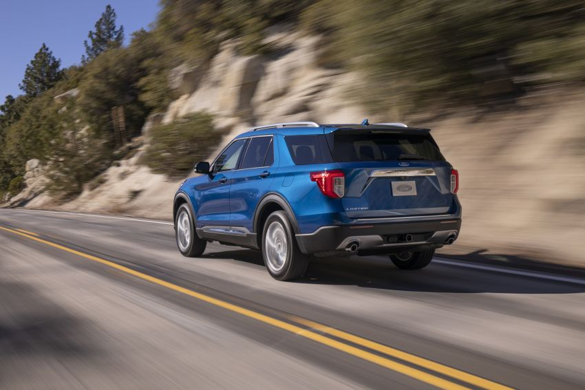 2020 Ford Explorer unveiled – rear-wheel drive,  365 hp 3.0 litre biturbo V6, hot ST version coming soon Image #908636