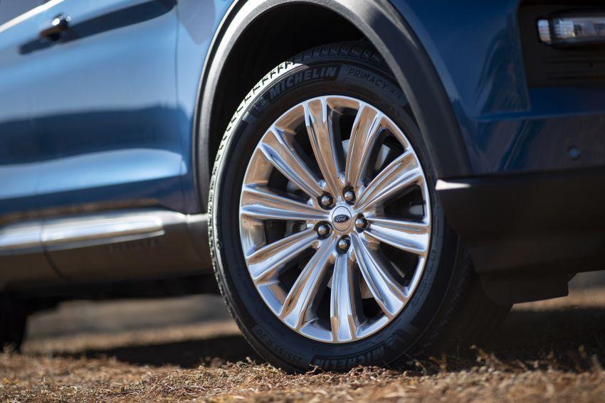 Ford Explorer 2020 didedah – pacuan roda belakang, 365 hp 3.0 liter biturbo V6, versi ST akan datang Image #908911