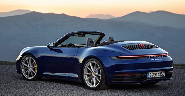 New Porsche 911 >> New Porsche 911 Cabriolet Revealed The Open Top 992