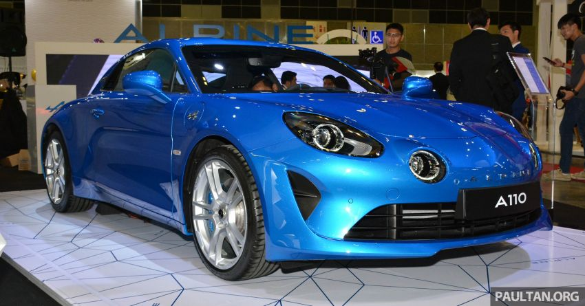 Alpine A110 goes on display at Singapore Motor Show Image #909468