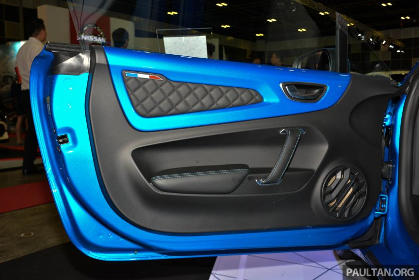 Alpine A110 goes on display at Singapore Motor Show Image #909478