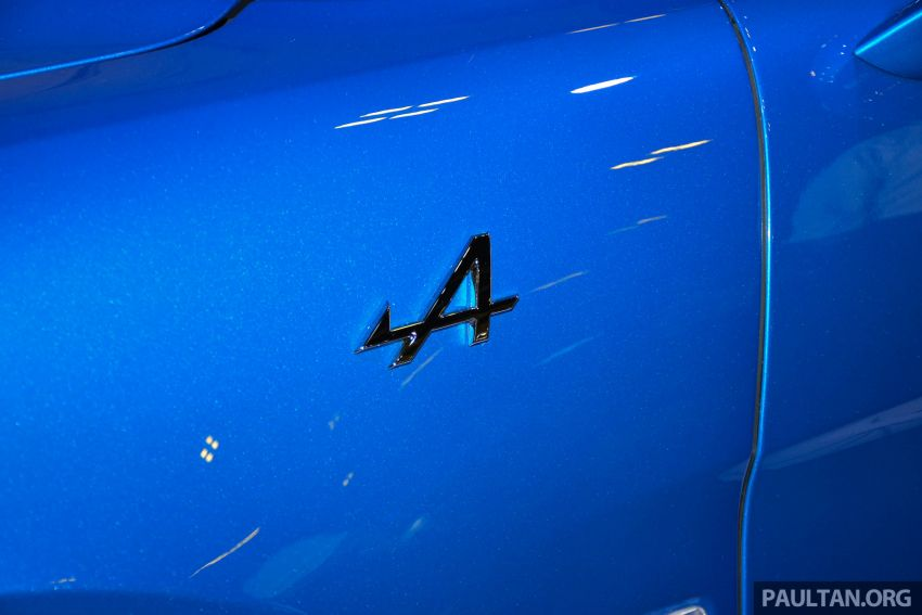Alpine A110 goes on display at Singapore Motor Show Image #909480