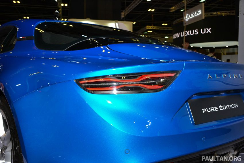 Alpine A110 goes on display at Singapore Motor Show Image #909476