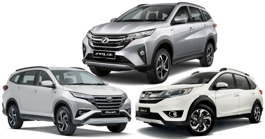 Perodua Aruz against budget seven-seater SUV rivals in Malaysia – where does it stand in size, power, kit? Image #910965