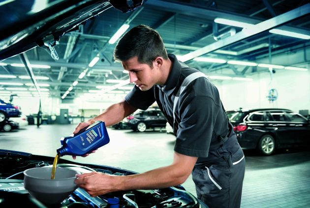 BMW engine oil service packages now sold on Lazada