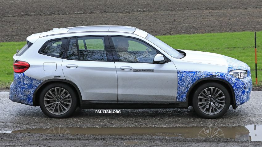 SPYSHOTS: BMW iX3 electric SUV caught once again Image #907478