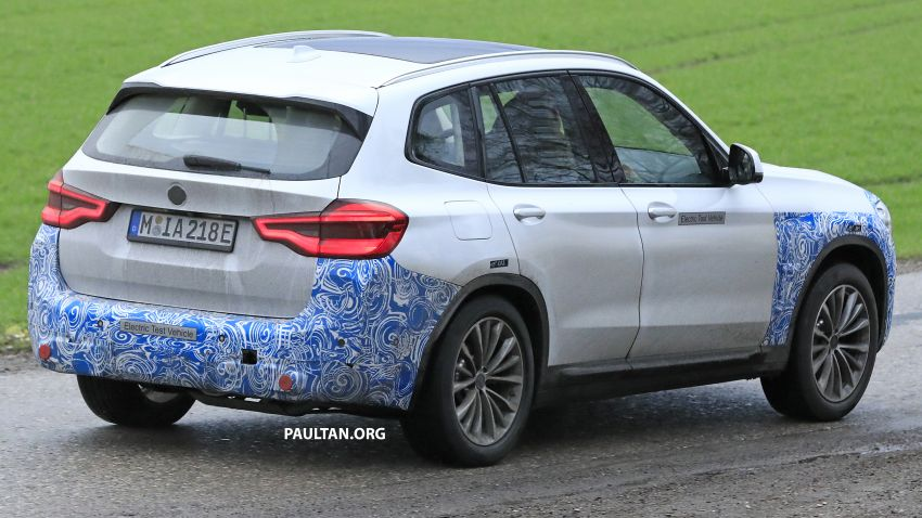 SPYSHOTS: BMW iX3 electric SUV caught once again Image #907480