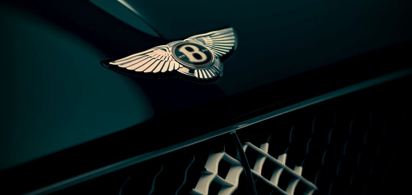 Bentley teases special edition model for its centenary Image #914887