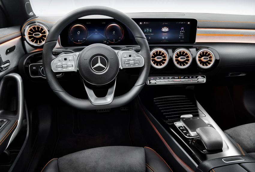 C118 Mercedes-Benz CLA – second-gen debuts at CES Image #908363