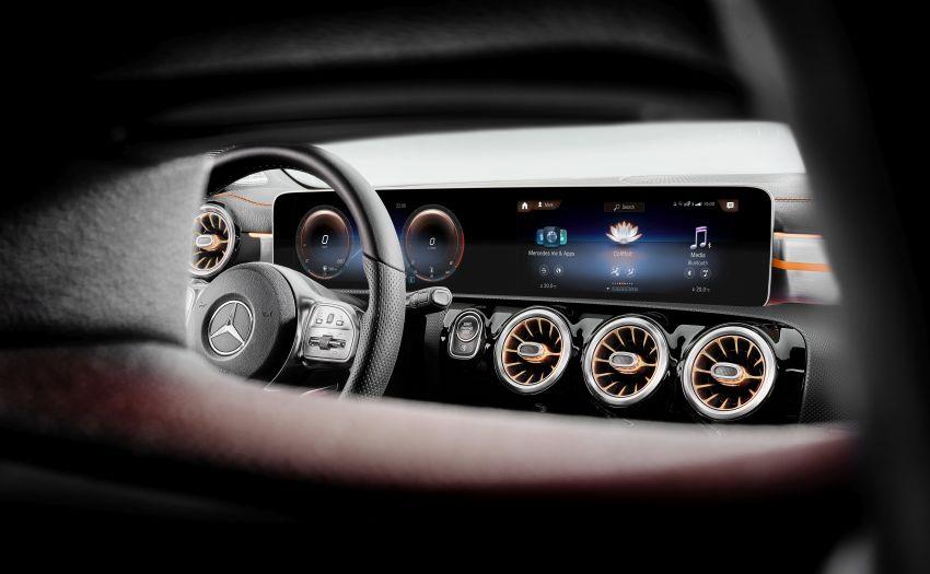 C118 Mercedes-Benz CLA – second-gen debuts at CES Image #908276