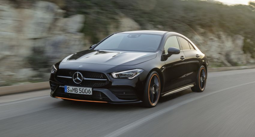 C118 Mercedes-Benz CLA – second-gen debuts at CES Image #908282