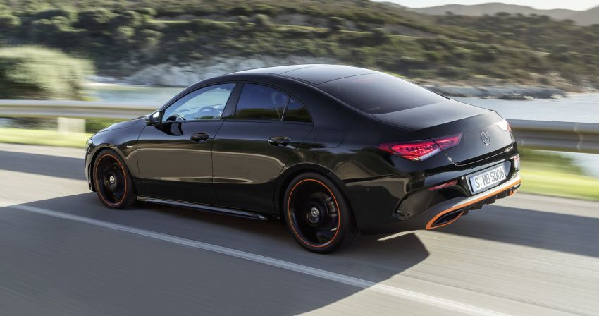 C118 Mercedes-Benz CLA – second-gen debuts at CES Image #908285