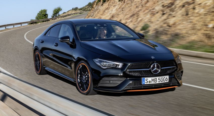 C118 Mercedes-Benz CLA – second-gen debuts at CES Image #908292