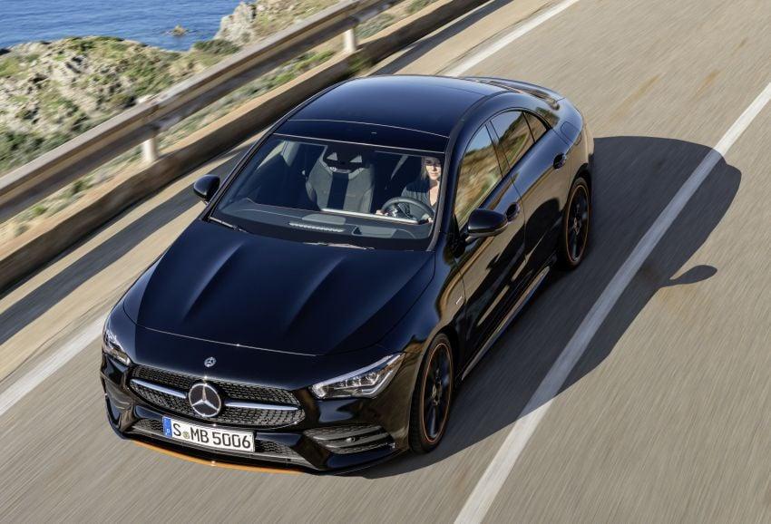 C118 Mercedes-Benz CLA – second-gen debuts at CES Image #908293