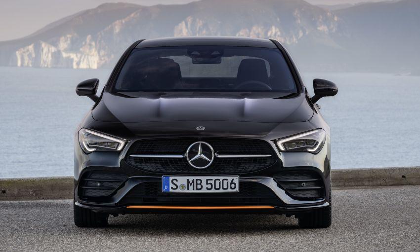 C118 Mercedes-Benz CLA – second-gen debuts at CES Image #908233