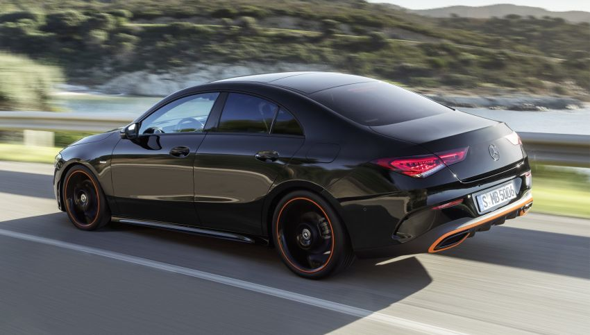 C118 Mercedes-Benz CLA – second-gen debuts at CES Image #908239