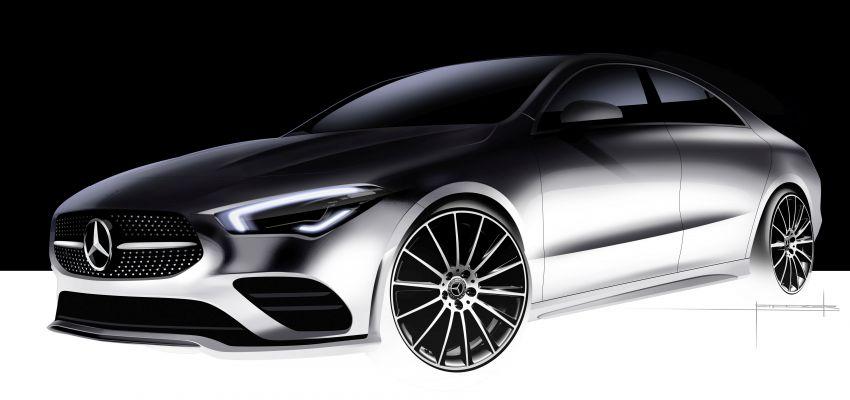 C118 Mercedes-Benz CLA – second-gen debuts at CES Image #908240