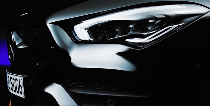 New Mercedes-Benz CLA – second-gen's final teaser Image #907492