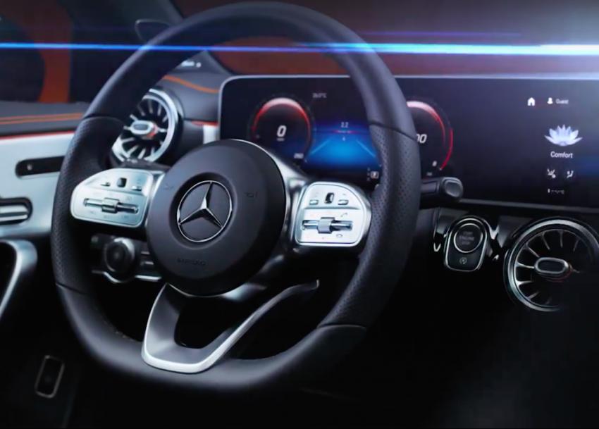 New Mercedes-Benz CLA – second-gen's final teaser Image #907493