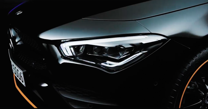 New Mercedes-Benz CLA – second-gen's final teaser Image #907497