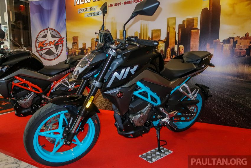 2019 CFMoto 250 NK now in Malaysia – RM12,800 for standard, RM13,800 for NK SE with ABS and TFT-LCD Image #913292