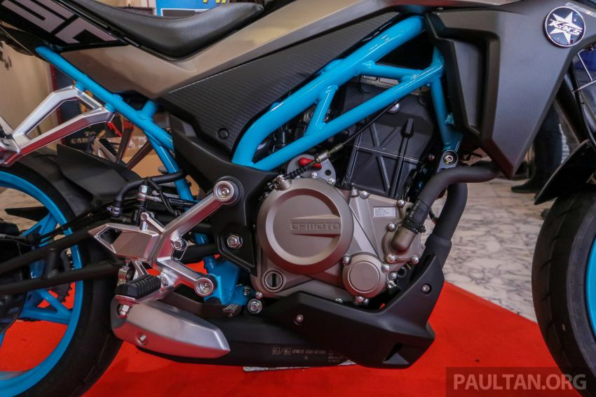 2019 CFMoto 250 NK now in Malaysia – RM12,800 for standard, RM13,800 for NK SE with ABS and TFT-LCD Image #913303