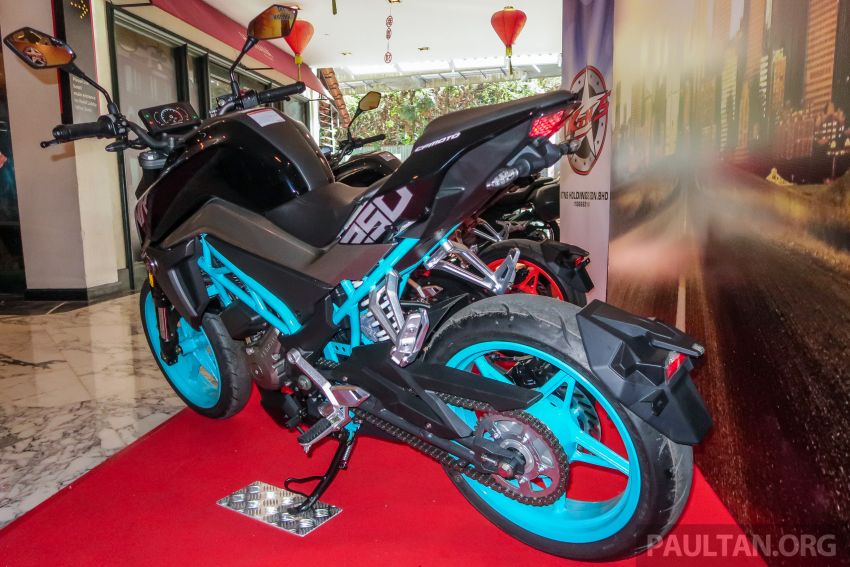 2019 CFMoto 250 NK now in Malaysia – RM12,800 for standard, RM13,800 for NK SE with ABS and TFT-LCD Image #913294