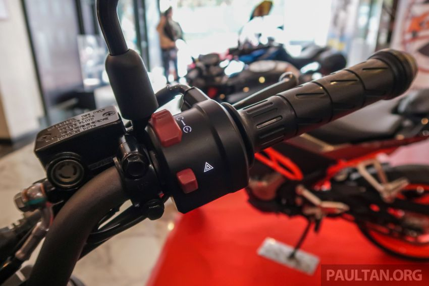 2019 CFMoto 250 NK now in Malaysia – RM12,800 for standard, RM13,800 for NK SE with ABS and TFT-LCD Image #913300