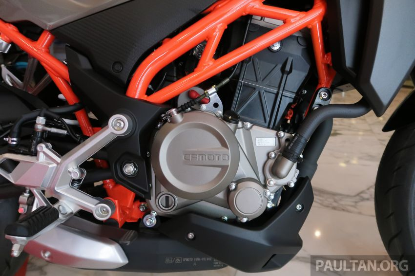 2019 CFMoto 250 NK now in Malaysia – RM12,800 for standard, RM13,800 for NK SE with ABS and TFT-LCD Image #913350