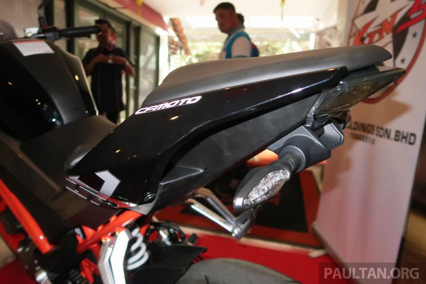 2019 CFMoto 250 NK now in Malaysia – RM12,800 for standard, RM13,800 for NK SE with ABS and TFT-LCD Image #913357