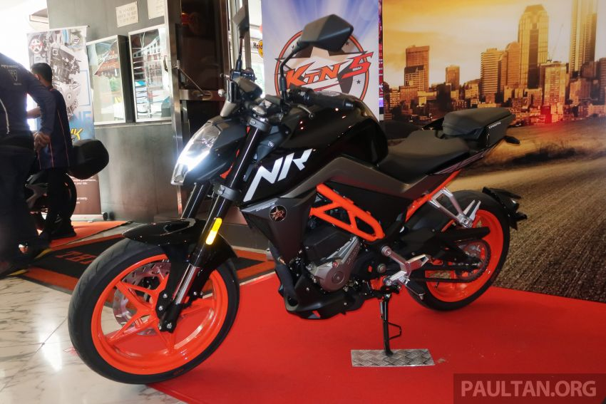 2019 CFMoto 250 NK now in Malaysia – RM12,800 for standard, RM13,800 for NK SE with ABS and TFT-LCD Image #913330