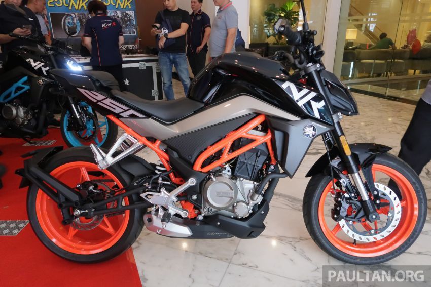 2019 CFMoto 250 NK now in Malaysia – RM12,800 for standard, RM13,800 for NK SE with ABS and TFT-LCD Image #913332